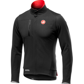Castelli Double Espresso Chaqueta Hombre, light black/red